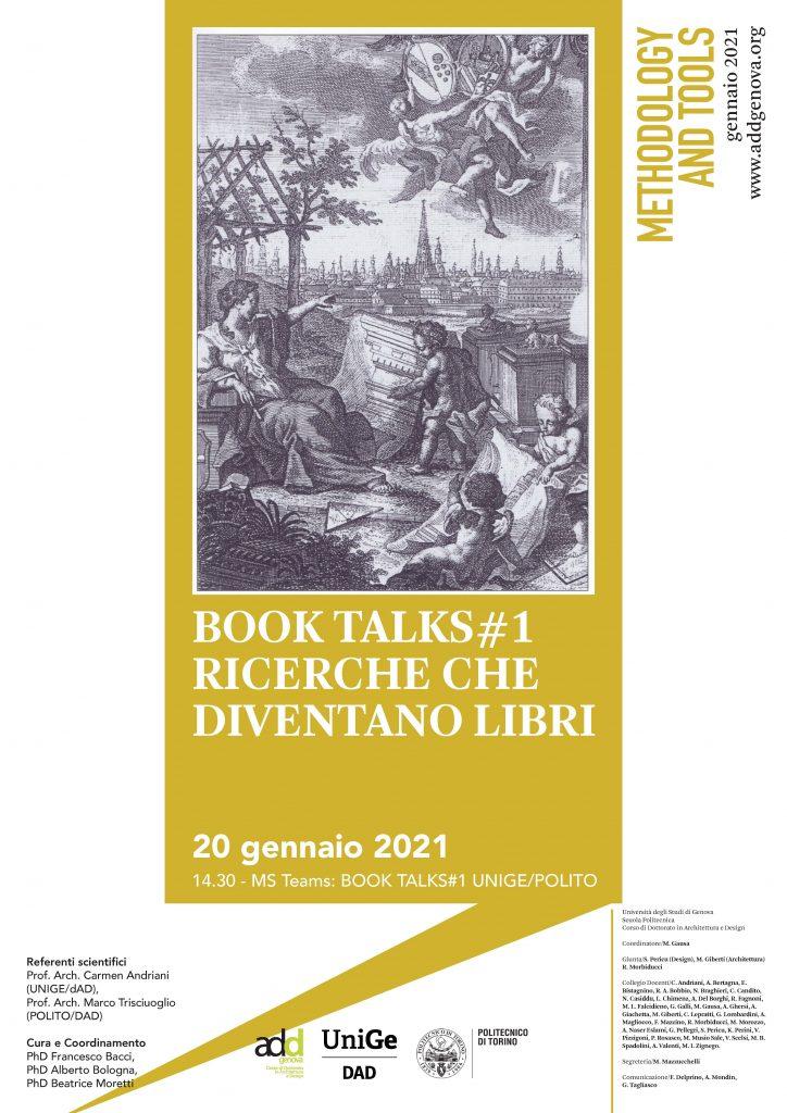 NEW LECTURE: Scuola politecnica di Genova, Genoa, January 20, 2021