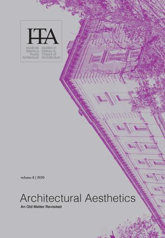 "NEW JOURNAL ARTICLE: ""Discreet Aesthetics"", sITA, vol.8, December 2020"